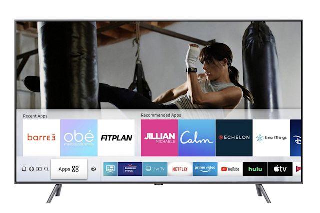 Samsung, akıllı TV'lerine fitness uygulaması getiriyor