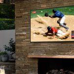 Terrace, Samsung'un ilk hava koşullarına dayanıklı QLED TV'si