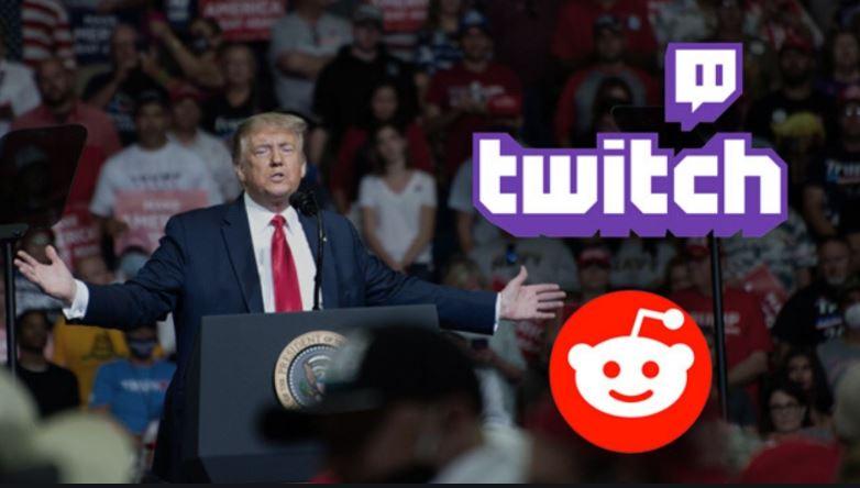 Twitch ve Reddit'ten Gelen Donald Trump Atağı Herkesi Şaşırttı!