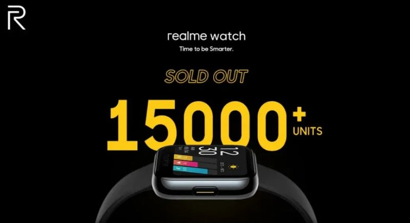 Uygun Fiyatlı Realme Watch 2 Dakika İçinde Stokları Eritti!
