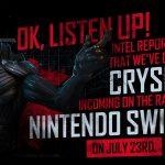Crysis Remastered, Nintendo Switch İçin Yayınlandı!