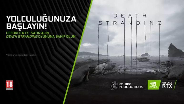 NVIDIA'dan Death Stranding'li Kampanya!