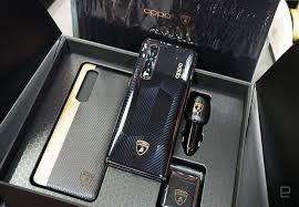 OPPO Find X2 Pro Automobili Lamborghini Edition İsviçre'de Satışa Çıktı; Lamborghini Markalı Aksesuarlarla Beraber Gelir