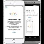 Android Telefondan iPhone'a Veri Aktarma!