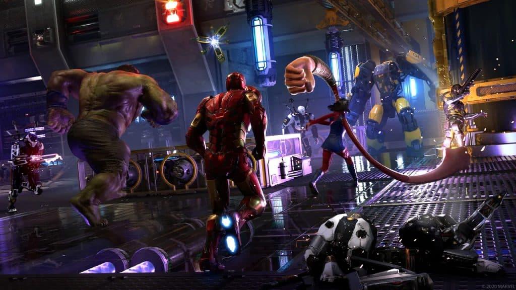 Marvel's Avengers BETA Sürümü Steam'de!