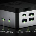 GMK NucBox Avuç İçi Boyutunda 4K Mini PC Çok Yakında Indiegogo'da Geliyor