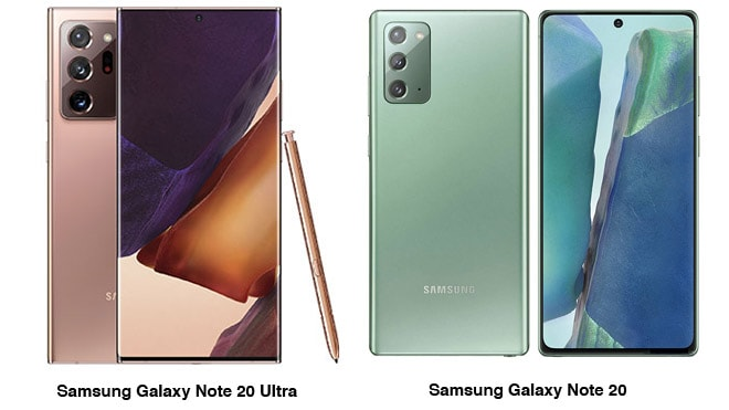 Samsung Galaxy Note 20 ve Galaxy Note 20 Ultra Resmen!