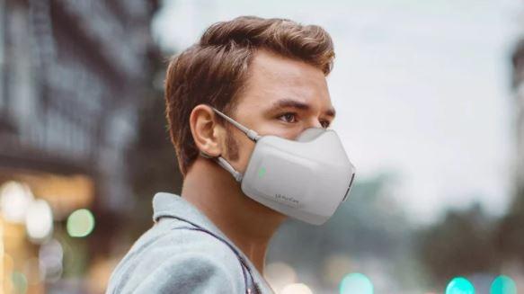 LG'den Pil ile Çalışan Maske Geliyor!