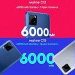 Realme C12, C15 Hindistan İçin Lansman Tarihi 18 Ağustos!