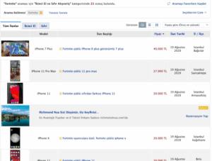 İkinci El İPhone Fiyatları 40 Bin TL'ye Ulaştı!