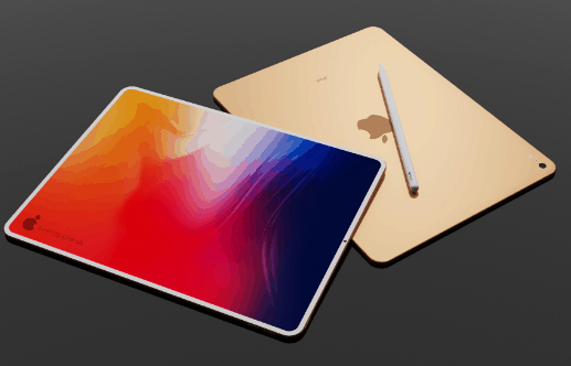 iPad Pro 2018'i Andıran Konsept Tasarım: iPad Air 4
