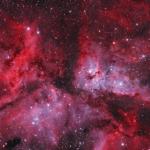 Karina Bulutsusu'nun 208 Bin Görüntüyle Oluşturulan 550 MP'lik Fotoğrafı!