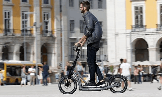 Uzun Menzilli Elektrikli Scooter: BMW X2City!