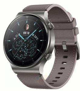 Huawei Watch GT2 Pro'nun Render Görüntüleri Ortaya Çıktı