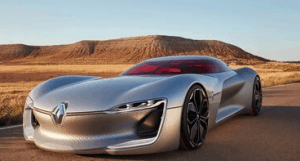 Tasarımıyla Piyasaya Ders Veren Elektrikli Otomobil: Renault Trezor!
