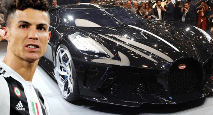 Cristiano Ronaldo, 12 Milyon Dolara Dünyanın En Pahalı Arabasını Satın Aldı!