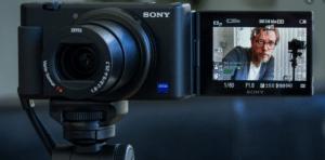 SONY'nin ilk VLOG kamerası ZV-1!