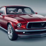 1967 Mustang ile Tesla Model S'i Bir Araya Getiren Otomobil: Aviar R67!