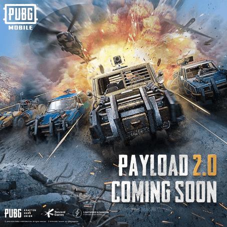 PUBG Mobile Payload 2.0 Güncellemesi Geliyor!
