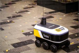 Yandex, Moskova'nın Merkezinde Restoran Yemekleri Sunan Robotlar Üretiyor