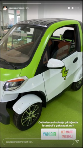 Elektrikli Scooter'dan Sonra Martı'dan Elektrikli Araç Geldi!