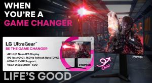 LG'den Oyunun Akışını Değiştirecek 4K Monitör