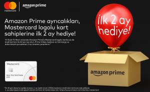 Mastercard Sahiplerine Ücretsiz Amazon Prime Fırsatı Doğdu!
