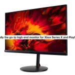 Xbox Series X ve PS5'i desteklemek için üretilmiş Acer Nitro XV282K KV 4K UHD Monitör