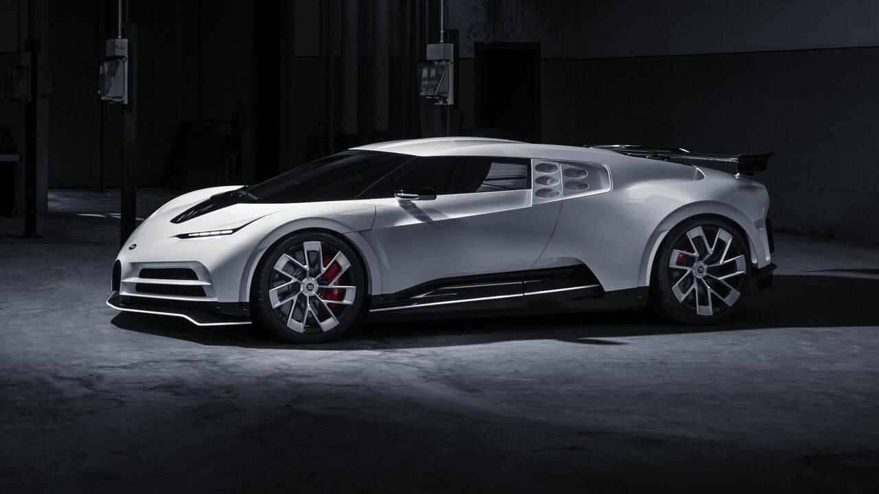 Bugatti ilk Centodieci prototipini tanıttı, üretim modeli 2022'de geliyor