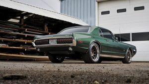 Ringbrothers tarafından üretilen Coyogar Mercury Cougar, bir Ford Coyote V8 paketliyor