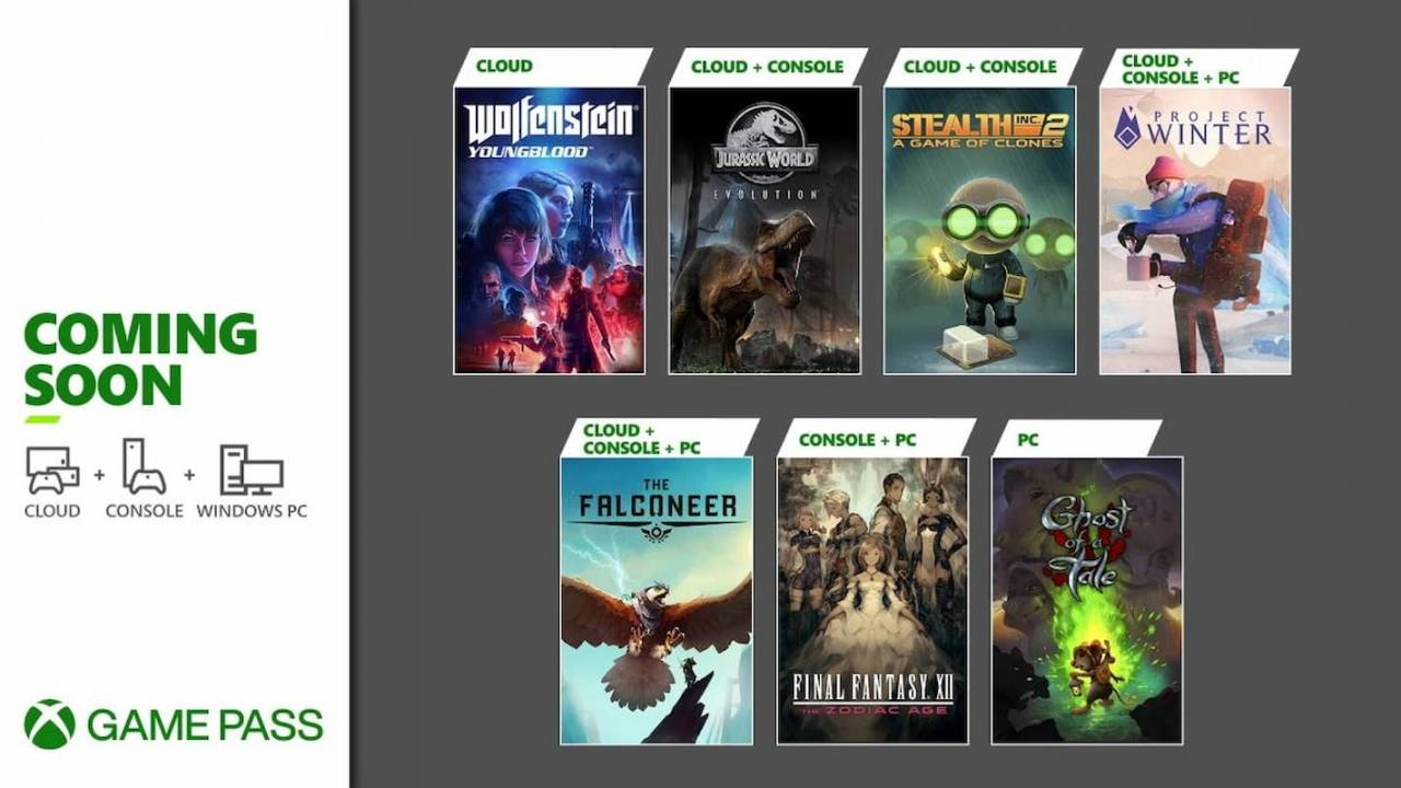 Xbox Game Pass, Şubat ayında Final Fantasy XII, Jurassic World Evolution'ı sunuyor
