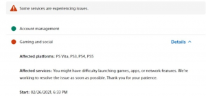 PlayStation'da Network Kesintisi Oluyor!
