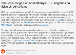 AMD, X570 ve B550 Anakartlarda USB Bağlantı Sorunlarını Kabul Etti!
