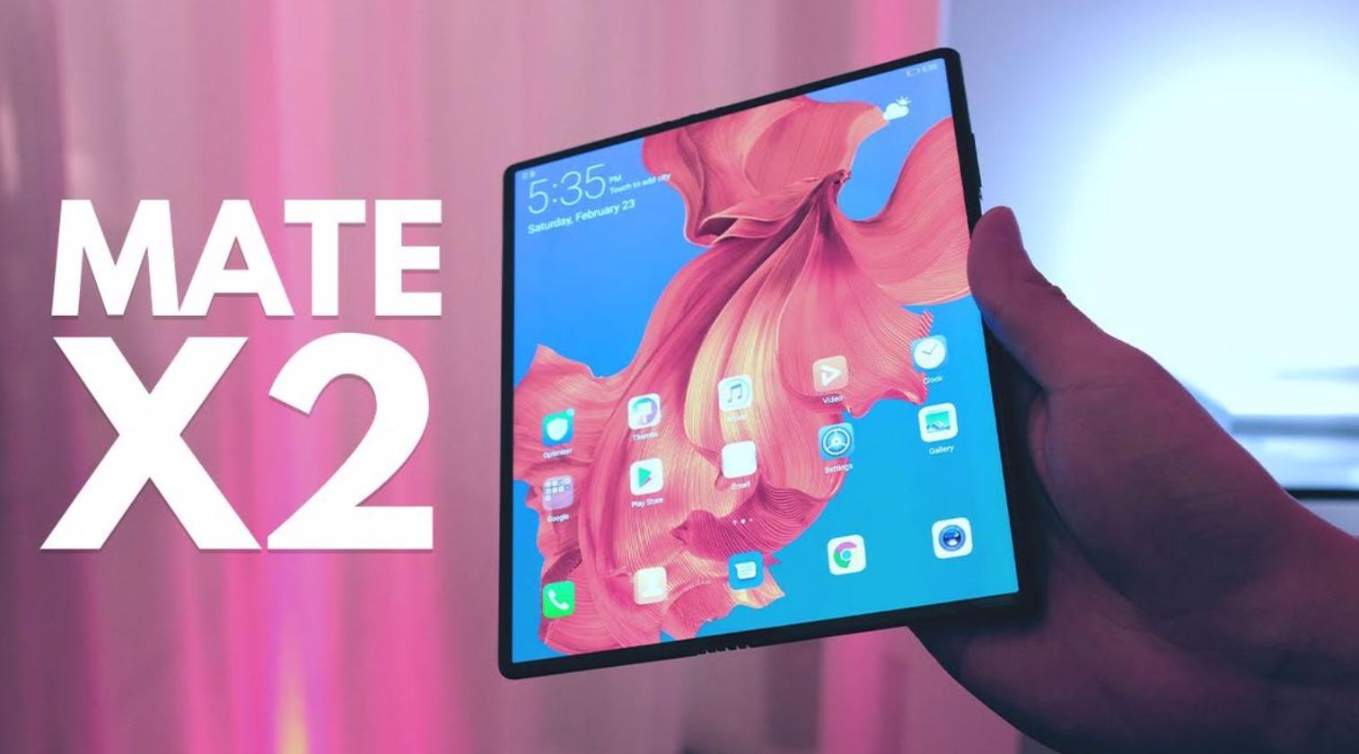 Huawei Mate X2 Tanıtıldı! 2021