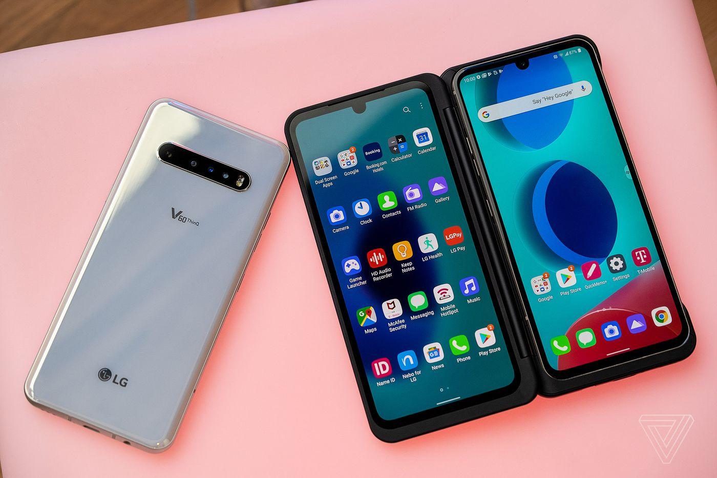 LG V60 ThinQ 5G sonunda Android 11 güncellemesini alıyor 2021