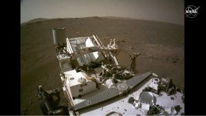 Mars'ın sesi nasıl: NASA Perseverance rover audio ve 360 panoyu paylaşıyor