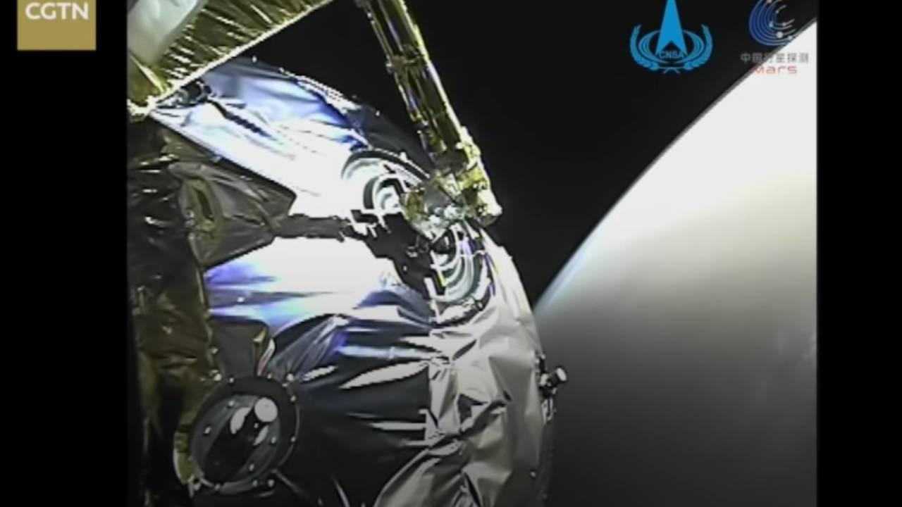 Çin'in Tianwen-1 Mars sondası bu mutlaka görülmesi gereken videoyu ışınladı 2021