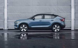 2022 Volvo C40 Recharge elektrikli crossover coupe, otomobil satışlarını artırmayı hedefliyor