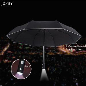 90 Puan, El Fenerli Tam Otomatik Katlanır Şemsiyeyi piyasaya sürdü