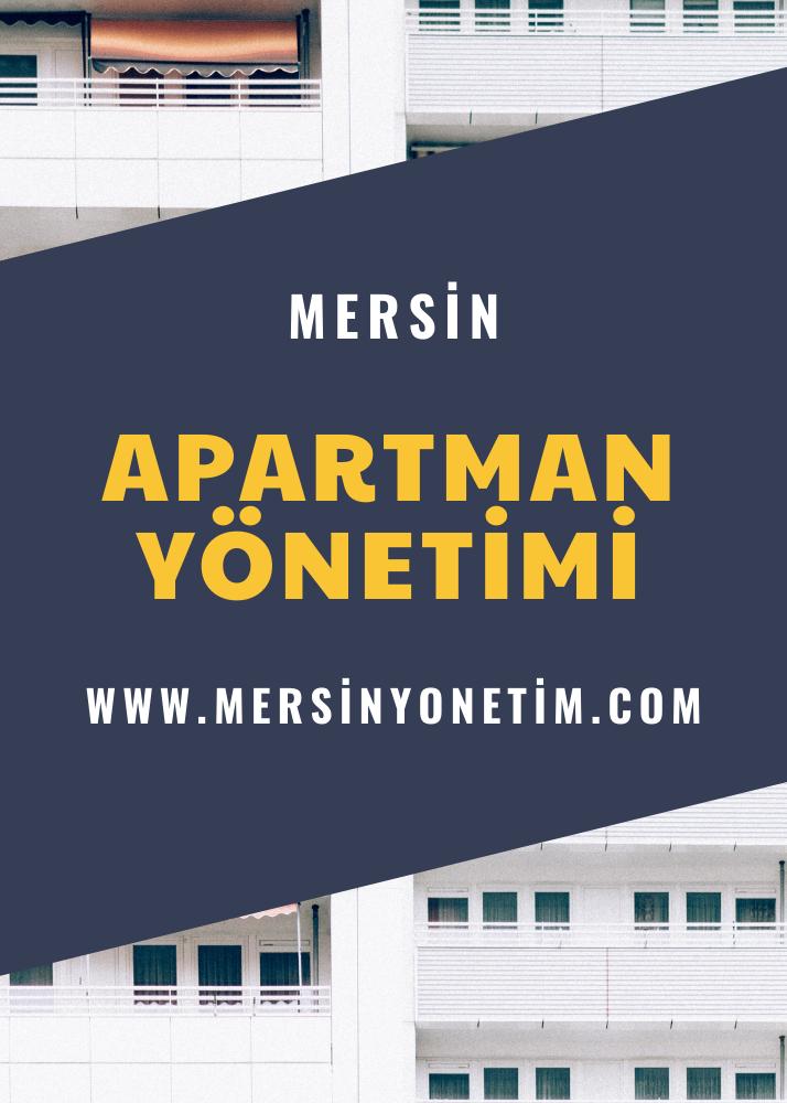 Mersin Site Bina Apartman Yönetimi Hizmetleri
