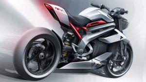 Triumph TE1 elektrikli spor motosiklet prototipi, Formula E yarışçısının genlerine sahip