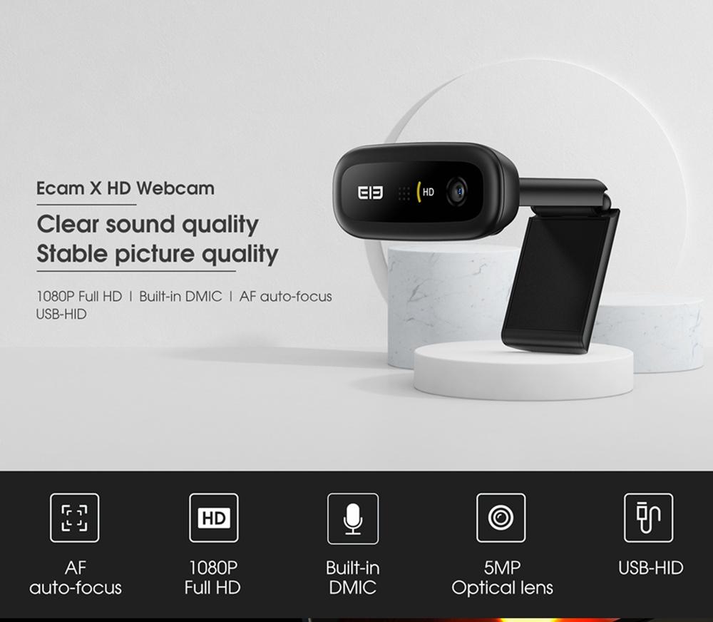 Süper Anlaşma: Elephone Ecam X, HD Web Kamerasını 16,59 $ 'dan Satın Alın (Orijinal Fiyat 18 $)