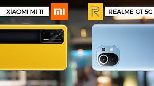 Xiaomi Mi 11 vs Realme GT: Özellik Karşılaştırması
