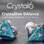 HiBy Crystal 6 Multi-BA IEM'ler, birinci sınıf ve doğru ses sağlamak için piyasaya sürüldü