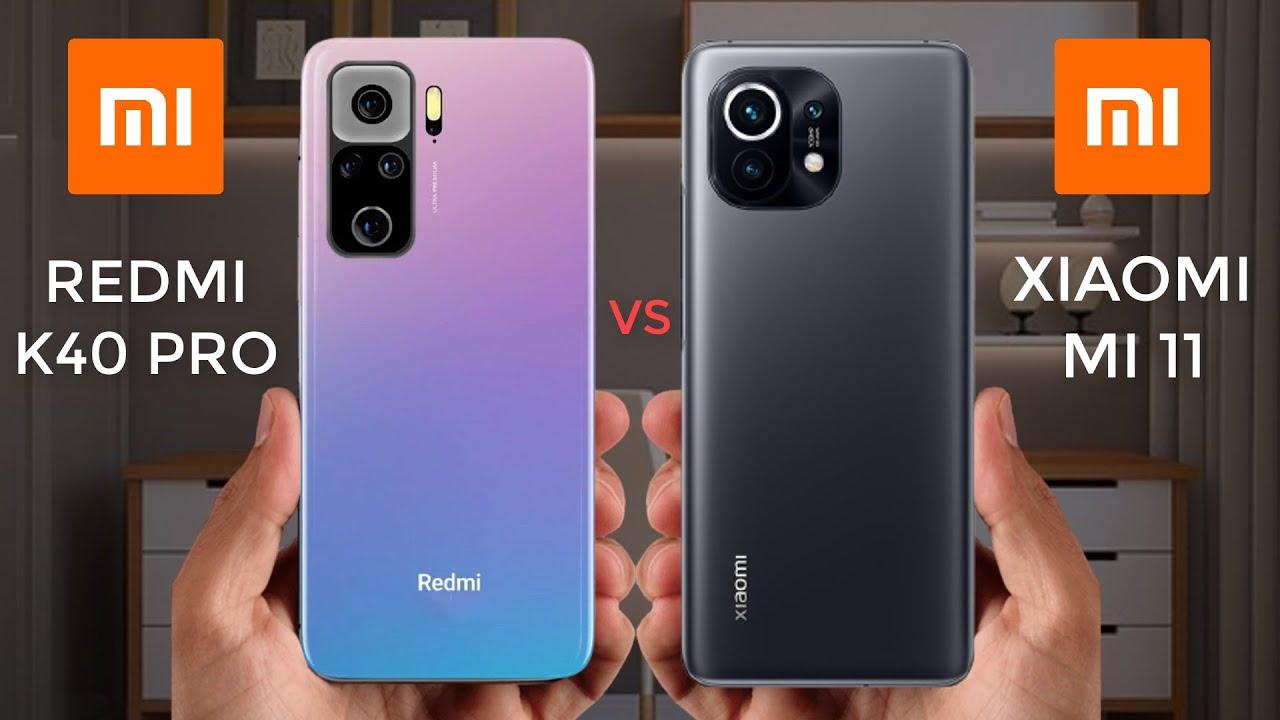 Xiaomi Mi 11 vs Redmi K40 Pro +: Özellik Karşılaştırması 2021