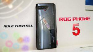 ASUS ROG Phone 5 serisi, 18 GB'a kadar RAM ve 3,5 mm kulaklık jakı ile piyasaya sürüldü