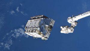 ISS'den yaklaşık 3 ton ağırlığında bir çöp paleti atıldı