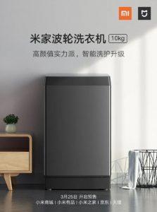 Xiaomi, NFC'li MIJIA Akıllı Pulsatörlü Çamaşır Makinesi 10kg'ı piyasaya sürdü