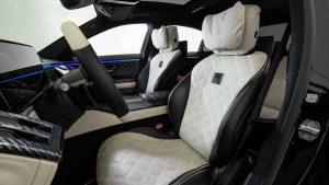 Brabus 500, kurt kılığına girmiş bir Mercedes-Benz S-Serisi