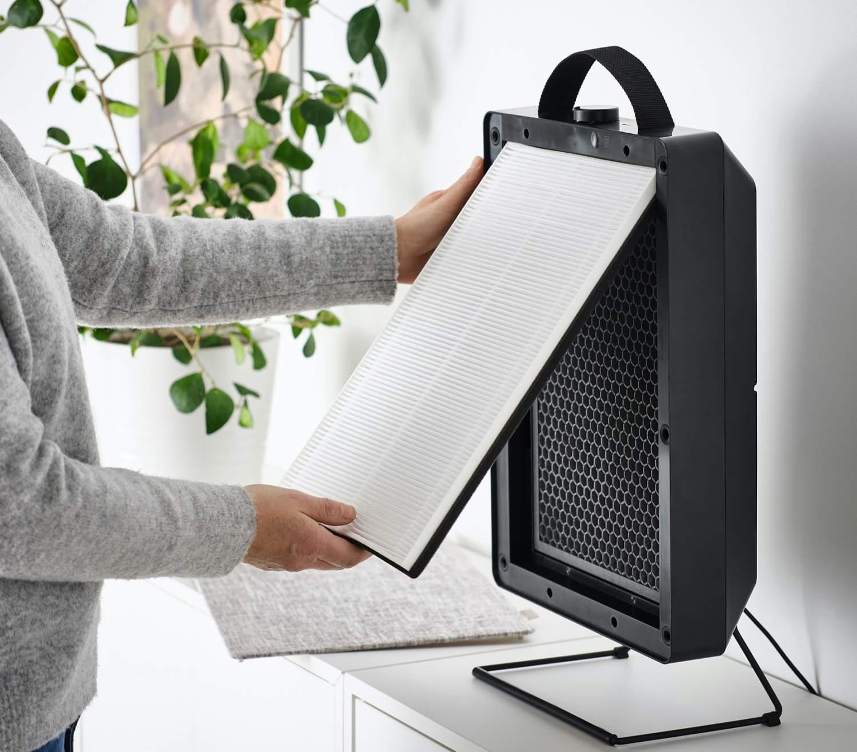 IKEA FÖRNUFTIG hava temizleyici beklenmedik şekilde ucuz ve şık